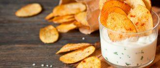 чипсы в домашних условиях из картошки
