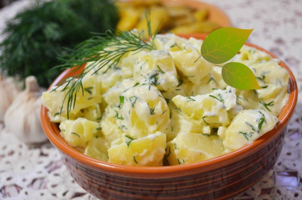 жареная картошка в сметане