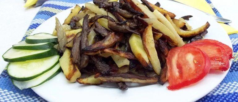 грузди жареные с картошкой рецепт