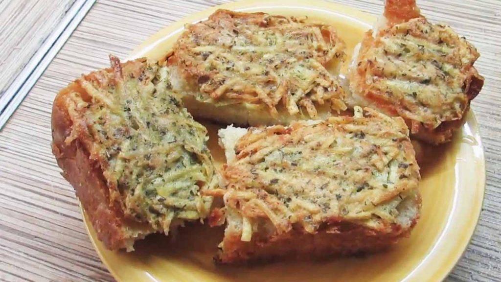 бутерброд с драником