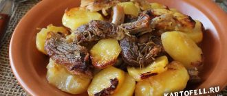 картошка с тушенкой рецепт